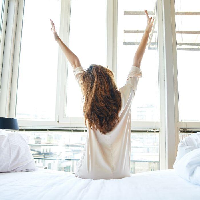 spanning loslaten en goed slapen